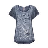 Shirt mit Frontverzierung, denim
