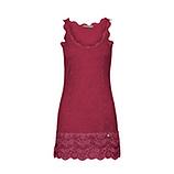 Basic Top aus Viskose 76cm, scarlet