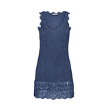 Basic Top aus Viskose 76cm, sky blue