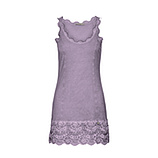 Basic Top aus Viskose 76cm, light purple
