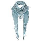 Schal mit Frontverzierung, fresh mint