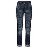 Jeans mit Steinchen 80cm, denim