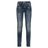 Jeans mit Sternen 80cm, denim