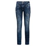 Used-Jeans mit Steinchen 80cm, denim