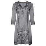 Kleid mit Lochspitze 3/4 Arm, eiffelturm