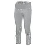 Baumwoll-Leggings mit Schnürung 55cm, silver