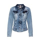 Jeansjacke mit Steinchen, denim