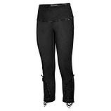 Baumwoll-Legging mit besticktem Tüll 55cm, schwarz