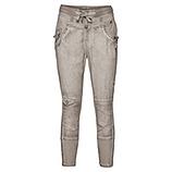 Streetwear-Pant mit Bändern 60cm, asche