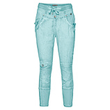 Streetwear-Pant mit Bändern 60cm, ozean