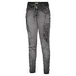 Streetwear-Pant mit Kurbelstickerei, magnet