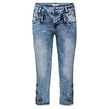 Jeans mit Schmucksteinen 55cm, light blue