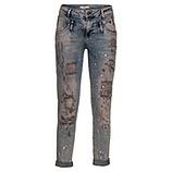 Destroyed-Jeans mit metallic 72cm, denim-rose-tinted