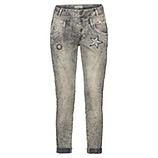 Jeanshose mit Patches 72cm, olio