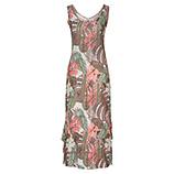 Kleid mit Glitzersteinen, taupe