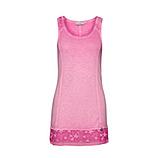 Basic Top mit Stern-Design 76cm, baby pink