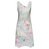 Kleid im Floralprint, bunt