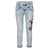 Jeans mit Schmetterlingsprint 72cm, light blue