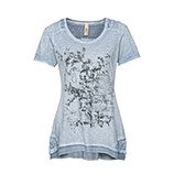 Shirt mit Love-Print, moonlight