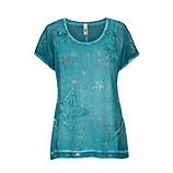 Shirt mit Sternen, opal