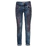 Jeans mit Schmucksteinen, denim