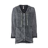 Jacke mit Ziersteinen, magnet stone washed