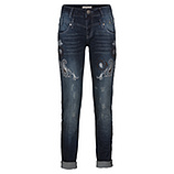 Jeans mit Stickerei 80cm, denim