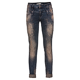 Jeans mit Mandala-Design 80cm, denim