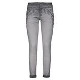 Jeans-Pant mit Applikationen, eiffelturm