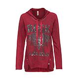 Sweatshirt mit Rock-Motiv, dahlie