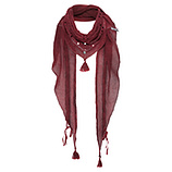 Schal mit Floral-Design, dahlie