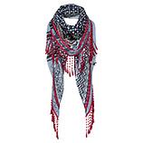 Schal mit Karo-Muster, bluefog