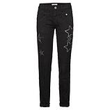 Hose mit Sternen 80cm, schwarz