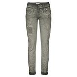 Coloured Jeans mit Floral-Design 82cm, olio