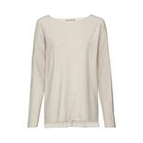Pullover mit Off-Shoulder, cashmere