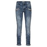 Jeans mit Perlen 80cm, denim