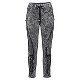 Sweat-Pant mit Pailletten, magnet stone washed