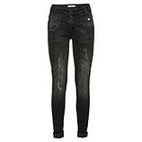 Jeans mit Schmucksteinen 80cm, schwarz
