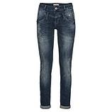 Jeans mit Mandala-Print 80cm, denim