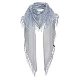 Schal mit floraler Spitze, moonlight