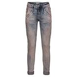 Jeans mit schillernden Steinchen, denim rosé washed
