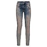 Jeans mit schillernden Steinchen 78cm, denim rosé washed