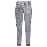 Jeans mit Glitzersteinen, grau