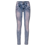 Jeans mit Ziersteinen, denim