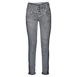 Sweat-Jeans mit Nieten 80cm, blau