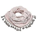 Loop-Schal mit Tiger-Motiv, rosenholz stonewashed