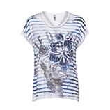 Shirt im California-Design, offwhite