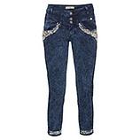 Sweat-Jeans mit Perlen 64cm, night