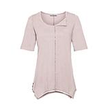 Basic Shirt mit Schmucksteinen, rosenholz