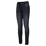 Jeggings mit Glitzersteinchen 78cm, dark denim
